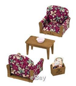Epoch Sylvanian Families Living Room Arm Chair Sofa set KA-509