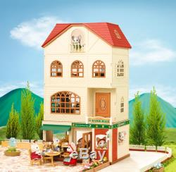 Epoch Sylvanian Families store The burger in woods