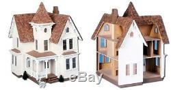 Fairfield Doll House DIY Kit Victorian Wooden Large Girls Room Play