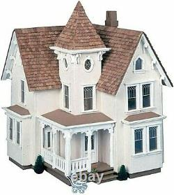 Fairfield Dollhouse Kit 1/2 Inch Scale Model Vintage Handcrafted Wood