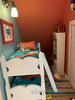 Fully Furnished And Lighted Dollhouse Beach Cottage