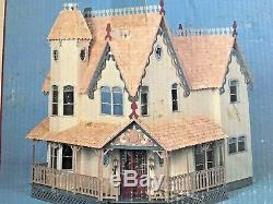 GREENLEAF wood VICTORIAN dollhouse kit THE PIERCE 112 scale miniature COMPLETE