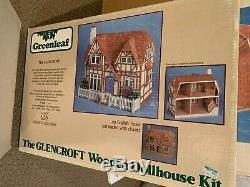 Glencroft dollhouse kit tudor dollhouse kit cottage dollhouse kit