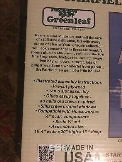 Greenleaf 124 Scale fairfield Dollhouse Kit