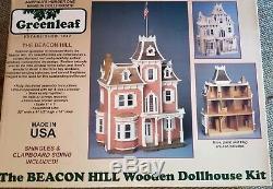 Greenleaf Beacon Hill Dollhouse Kit 1 Inch Scale