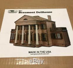 Greenleaf Beaumont Wooden Dollhouse Kit 112 USA MADE NEW