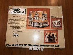 Greenleaf Dollhouse Kit The Garfield Wooden Kit 100% Complete Unassembled
