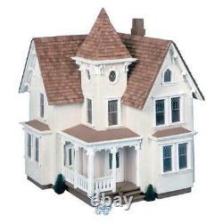 Greenleaf Fairfield Dollhouse Kit 1/2 Inch Scale