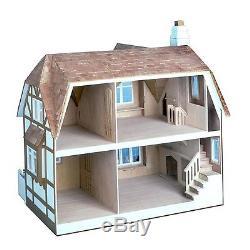 Greenleaf Glencroft Dollhouse Kit 1 Inch Scale