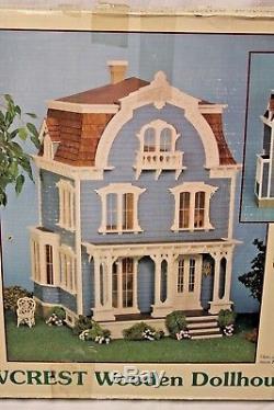 Greenleaf THE WILLOWCRET DOLLHOUSE Wood Wooden Dollhouse Kit