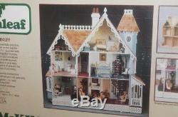 Greenleaf The McKINLEY Wooden Victorian Doll House Kit #8009 New in Box