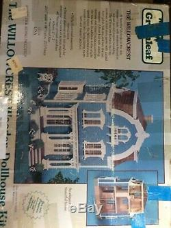 Greenleaf dollhouse kit The Willow Crest