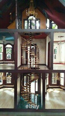 HAVE A L@@K at this very unique handmade miniature dollhouse