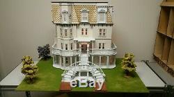 Hegeler Carus Mansion 124 scale Dollhouse Kit