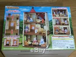 House With A Lift Of Sylvanian Families Red Roof