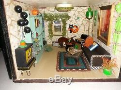 Japanese Oriental Themed Dollhouse Custom Dollhouse Furniture 23 X 22.5 X 12