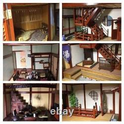 Japanese-Style Hotel Ryokan Doll House 1/20 Scale Model Kit Set DeAGOSTINI Jp