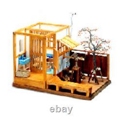 Japanese-style Bath 112 Doll House Miniature Figure Handmade Kit DIY Wood A011