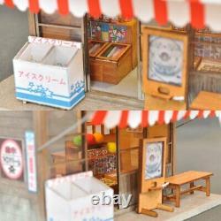 Japanese-style Doll House DIY Kit Shop series Dagashi shop C010 Miniature 353