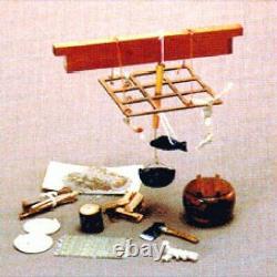 Japanese-style Doll House Handmade Kit Hearth kit Irori A010 Miniature Japan 319