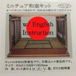 Japanese-style Room 112 Doll House Handmade Kit DIY Assemble Miniature A002