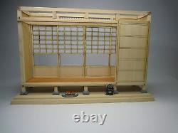 Japanese-style Room Wide Open Corridor HIROEN 112 Doll House Handmade Kit A103