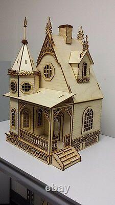 Jasmine Gothic Victorian Cottage Dollhouse 124 scale