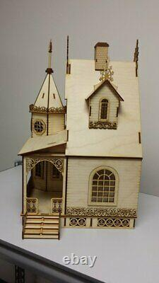 Jasmine Gothic Victorian Cottage Dollhouse (124 scale)
