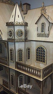 Jasmine Gothic Victorian Dollhouse112 scale Large Kit