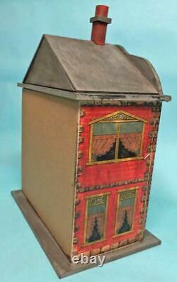 Jean Nordquist's NEW Bliss Replica 13H DOLLHOUSE with Wallpaper & Open Windows