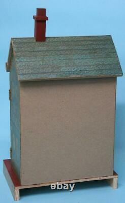 Jean Nordquist's NEW Bliss Replica 15-1/2H DOLLHOUSE with wallpaper & furniture