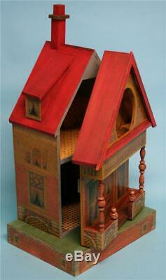 Jean Nordquist's Reproduction Bliss Keyhole 19H Doll House KIT with interior