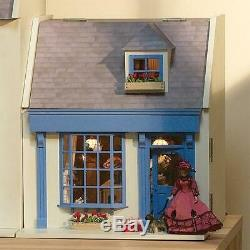 Jenny Wren's Dolls House Victorian Shop Pub Cafe Unpainted Flat Pack Kit 112