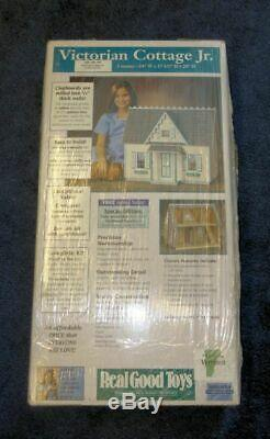 KIT to make a Victorian Style Cottage Dollhouse with Shingles Included