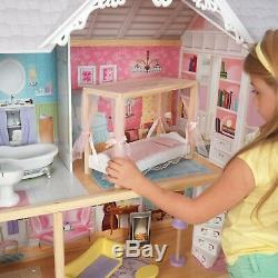 Kaylee Dollhouse with 10-Piece Accessory Set by KidKraft