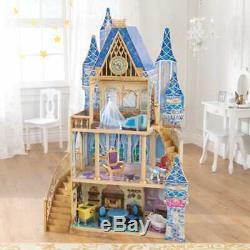 KidKraft Disney Princess Cinderella Royal Dream Dollhouse Play Furniture Toy