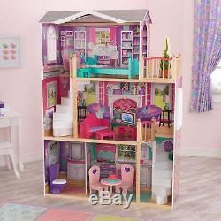 KidKraft Elegant 18-inch Doll Manor Pink