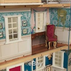 KidKraft Grand 50th Anniversary Victorian Dollhouse with 20 Accessories 4'+ High
