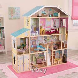KidKraft Majestic Mansion Deluxe Pretend Play Dollhouse (Open Box)