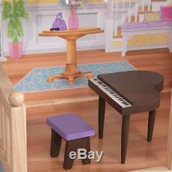 KidKraft Majestic Mansion Pretend Play Wooden Dollhouse with Furniture (Used)