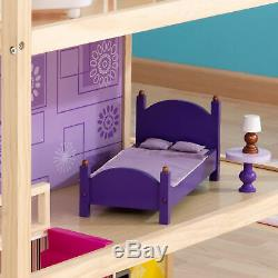 KidKraft So Chic Dollhouse with 46 Accessories