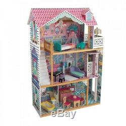 Kidkraft 65079 Kids Girls Annabelle Dollhouse Big Large Fashion Play Doll House