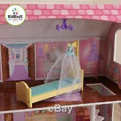 Kidkraft Penelope Dollhouse Wooden Doll House fits barbie doll