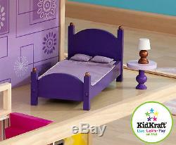 Kidkraft So Chic Dollhouse, Wooden Dollhouse for Barbie Sized Dolls