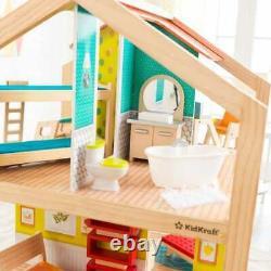 Kidkraft So Stylish Mansion Dollhouse with EZ Kraft Assembly Wooden Dollhouse