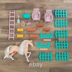 Kidkraft Sweet Meadow Horse Stable Toy Horse Stable House