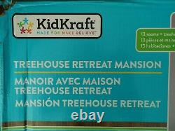 Kidkraft Treehouse Retreat Mansion Wooden Dollhouse Dolls House Girls Play Doll