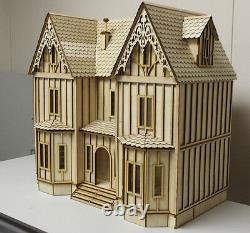Kristiana Tudor 124 scale dollhouse Kit