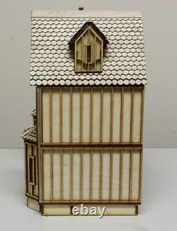 Kristiana Tudor Dolls House 148 Scale Lazer Cut Unfinished Flat Pack Kit