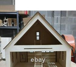 Lansdowne 2 Car Garage/Workshop (112) scale Dollhouse